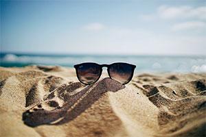 lunette plage été